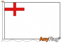 WHITE ENSIGN 1630 1702 ANYFLAG RANGE - VARIOUS SIZES